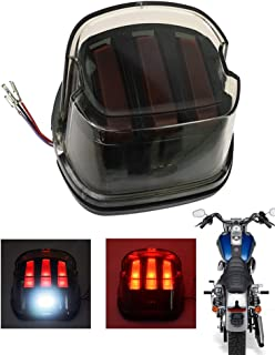 Rebacker Motorcycle Led DRL Brake Tail Light Fit For Harley Softail Sportster Dyna Fatboy