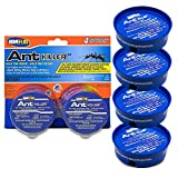 Home Plus Ant Killer (4-Pack), Metal Ant Traps Indoor & Outdoor, Ant Bait...