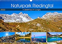 Naturpark Riedingtal (Wandkalender 2022 DIN A3 quer): Impressionen im Riedingtal in Zederhaus im Lungau (Monatskalender, 14 Seiten )