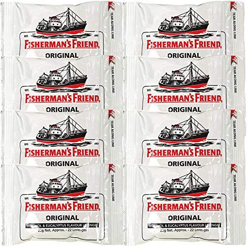フィッシャーマンズ フレンド エクストラ ストロング ミント (白) 8袋セット