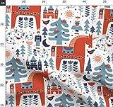 Einhorn, Märchen, Folklore, Baum, Weihnachten, Winter