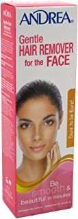 Andrea Hair Remover Gentle For Face 2 Ounce (59ml) (2 Pack)