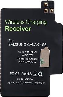 وحدة استقبال الشحن اللاسلكي القياسية DiGiYes Qi لهاتف Samsung Galaxy S5 i9600 i9700