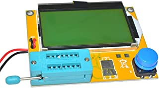 Sharplace M328 Port/átil Transistor Tester Display Diodo Tiristor Capacitancia Resistencia Inductancia ESR LCR Meter