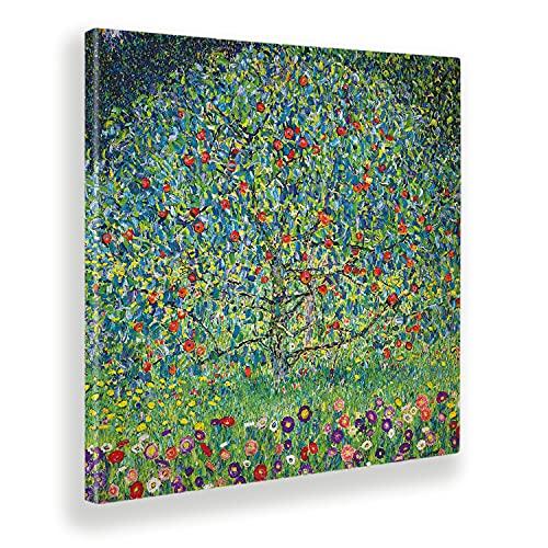 Giallobus - Quadro - Gustav Klimt - Melo I - Tela Canvas - 100x100 - Pronto da Appendere - Quadri Moderni per la casa