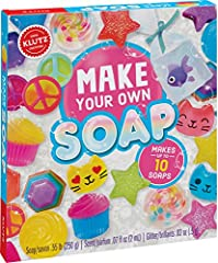 2017 the National Parenting center award winner Shapes Like stars and cat faces appeal to both boys and girls Detailed Instructions and full-color inspiration Sidebars contain fun facts about the chemistry of clean, with easy science experiments Grea...