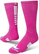 Red Lion Neon Legend 2.0 Athletic Socks ( Neon Pink / White - Medium )