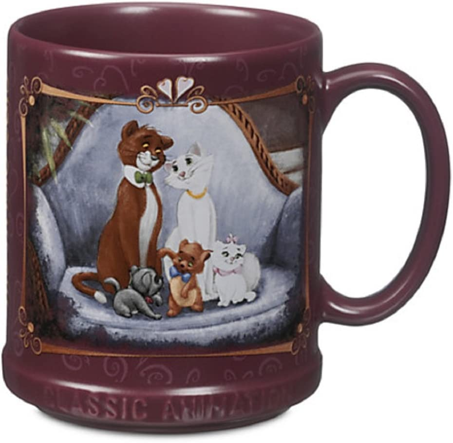 Disney overseas Store Aristocats Under blast sales Marie Animation Coffe Classic Collection