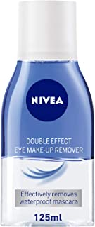 NIVEA, Face Cleanser, Eye Makeup Remover, Double Effect, Sensitive, 125ml