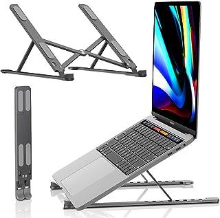 Laptop Stand - Portable Computer Stands, Aluminum Laptops Holder Riser, Ergonomic Ventilated Notebook Desk, Compatible wit...