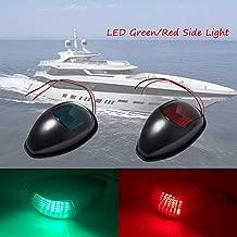 Akozon Boat Courtesy Light 12V Blanc LED Marine Yacht /à Bateau en Acier Inoxydable Oblong Lampe De Courtoisie Escalier Pont Utilisation