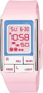 Casio LDF51 – 4 A – Women's Wrist Watch, Resin Strap/Pink