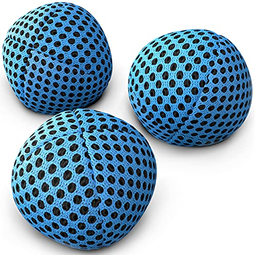 speevers Juggling Balls for Beginners and Professionals, XBalls Set of 3 Fresh Design - 5 Beautiful...
