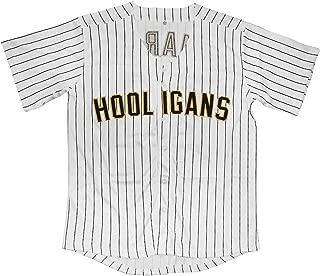 Mars Hooligans 24K Hiphop Baseball Jersey for Men S-XXXL