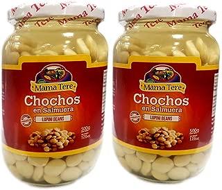 Mama Tere Chochos (glass) 2 Jars - 17.6 oz (500 gr) (2)