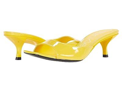 Calvin Klein Mega (Scuba Yellow) Women
