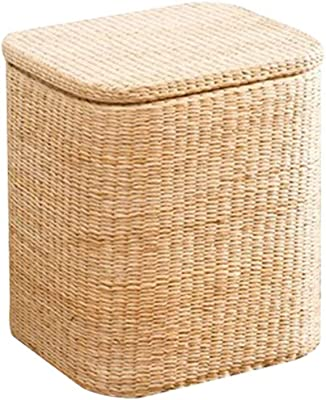 Incredible Amazon Com Round Wicker Ottoman All Weather Woven Ottomans Onthecornerstone Fun Painted Chair Ideas Images Onthecornerstoneorg