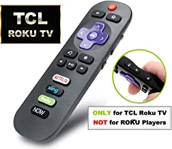 IKU RC280 Standard IR Remote Replacement for TCL Roku Smart TV with Updated 4 Shortcuts (TCL w/DirecTV)