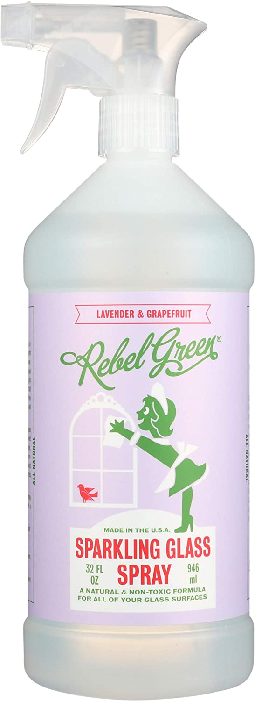 Rebel Popular standard Green Max 51% OFF Spray Glass Lvndr oz 32 Grpfrt