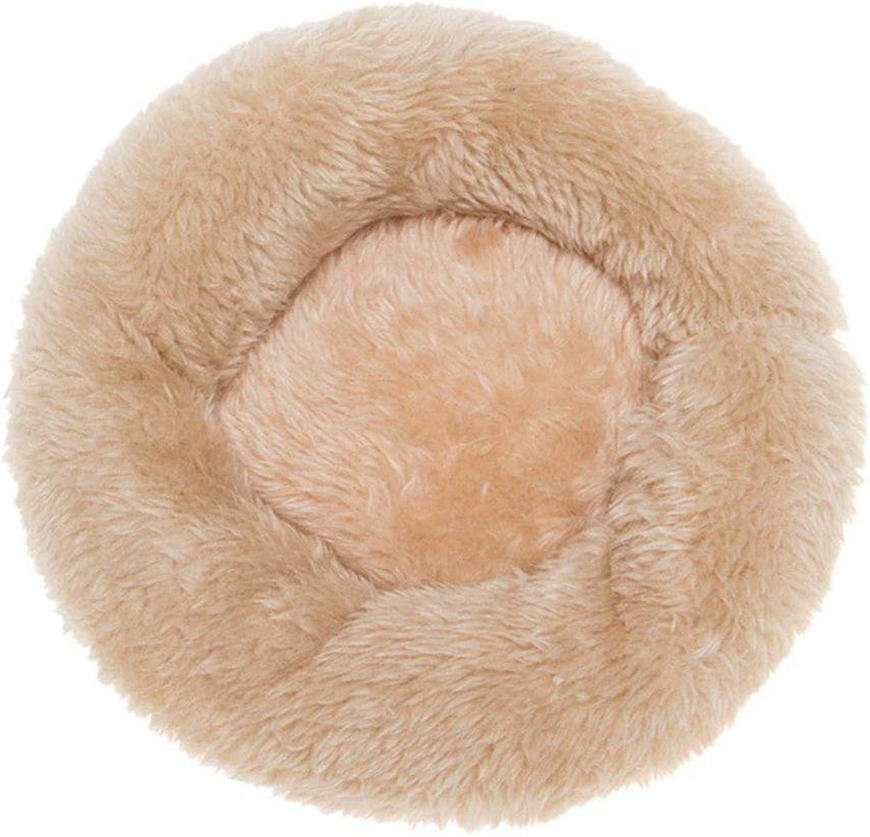 Desti Flakes Pet Bolster Dog Bed Comfort Pet nest (color   B, Size   S)