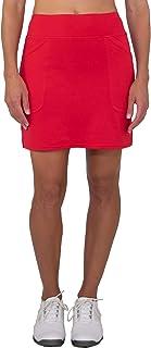 Jofit Women's Firecracker Collection Woven Mina Golf Skort, Lipstick Red