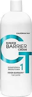 california tan barrier cream