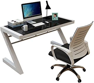 Living Equipment Gaming table Computer Desk Desktop Home Simple Modern Tempered Glass Economical Gaming Table Single Simpl...