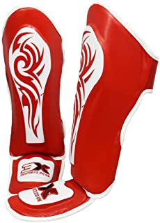 3X Sports Professional Choice Kids Shin Instep Guard MMA Almohadillas para piernas Equipo de protección Thai Boxing UFC MMA Training Kickboxing Boys Girls