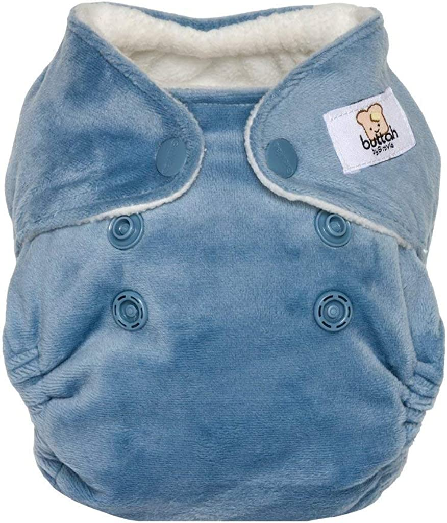 AIO GroVia Buttah Newborn All in One Snap Reusable Cloth Diaper