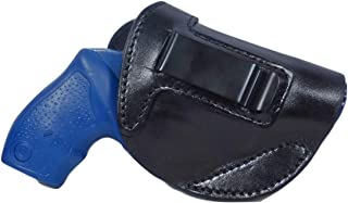 Tactical Scorpion Gear Full Grain Leather IWB Concealment Carry Gun Holster fits: Taurus 85 605 and S&W 637 642 638 43/442
