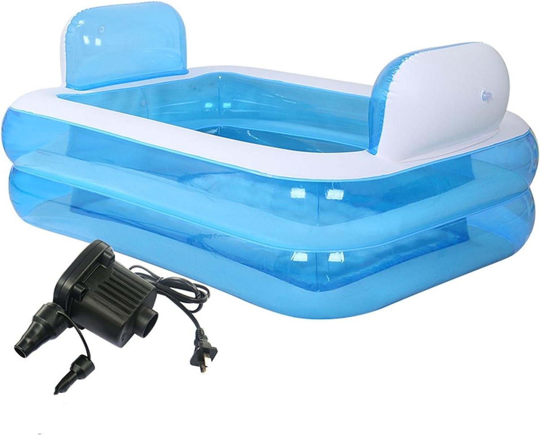 Aufblasbares Bad, die Wanne ist gefaltet, verdickter Erwachsener Badewanne Badewanne Bad Barrel Kunststoff. Tragbare Home Spa für Erwachsene, Komfortables Bad, Qualittsbadewanne New Model152  108