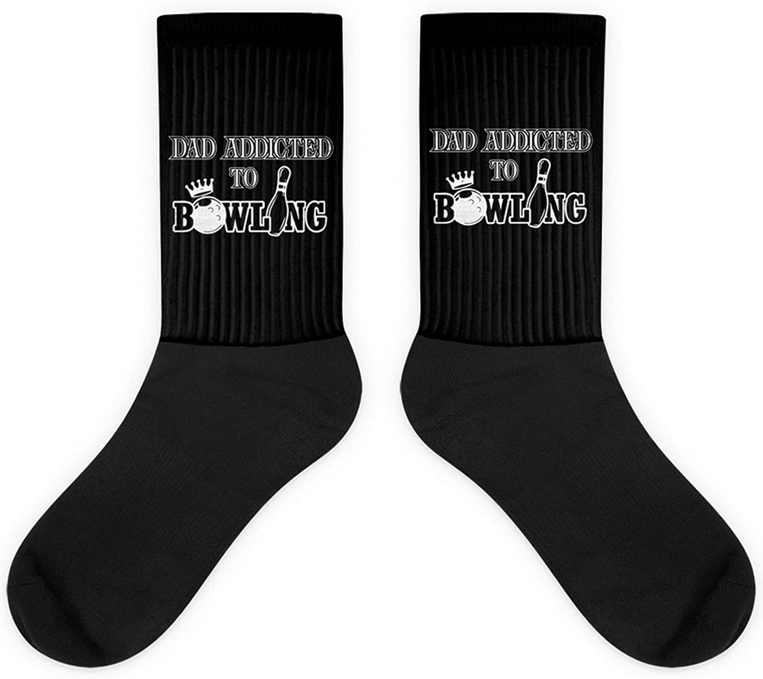 Dad Bowling Fathers Gift Mens Quote Socks Bowler F