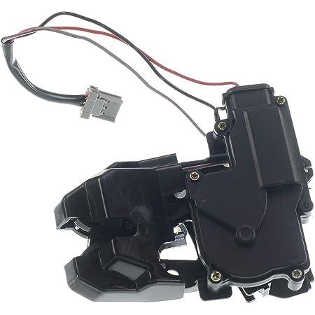 Qiilu Trunk Latch Trunk Lock Actuator Black Car Trunk Lock Block Tailgate Latch Actuator for HONDA ACCORD 1998-2002
