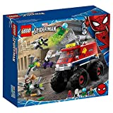 LEGOSuperHeroesMarvelMonsterTruckdiSpider-Manvs.Mysterio,SetconMinifigurediDottorOctopuseSpider-Gwen,76174