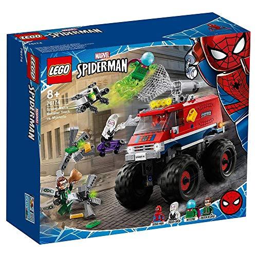 LEGO 76174 Super Heroes Marvel Spider-Man vs. Mysterio y Spider-Gwen vs. Octopus