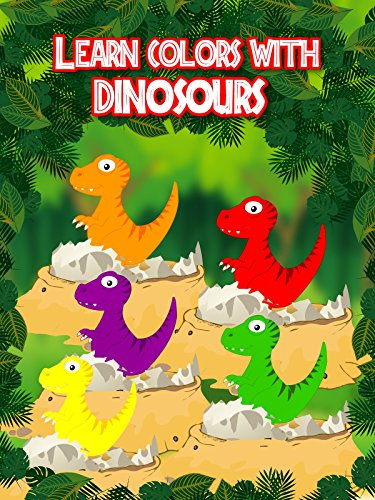 Learn Colors With Dinosaurs