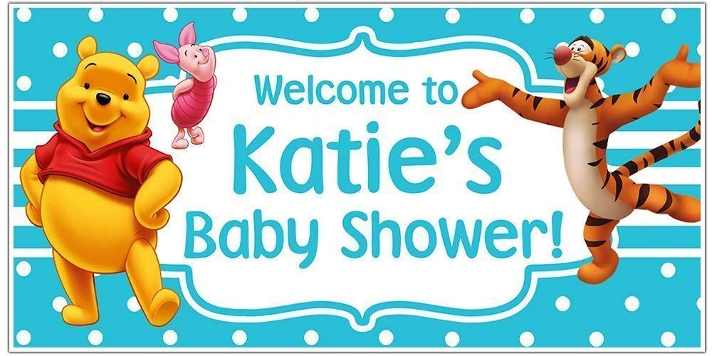 Cash special price Winnie the Pooh Baby Banner Selling rankings Shower