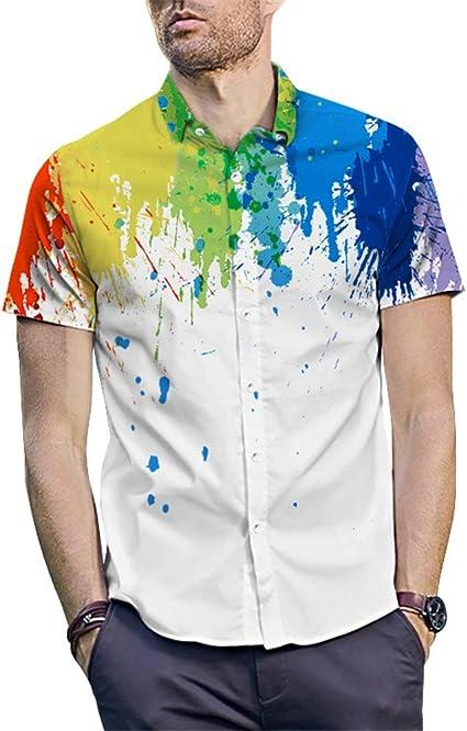 Camisa hawaiana para hombre Camisa de playa impresa en 3D ...