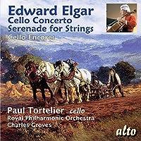 Edward Elgar: Cello Concerto/Serenade For Strings/... by Tortelier (2015-06-15)