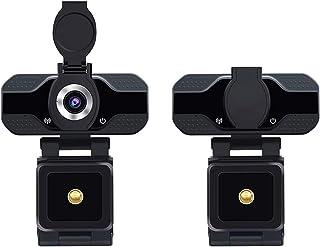 غطاء كاميرا الويب HD 1080P Webcam With Built-in MicrophoneSmart Webcam For USB Pro Camera For Desktop Laptop PC Gaming Cam...