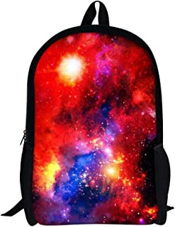 Galaxy Backpack for Boys 16 Inch School Bag for Teenager Girls Casual Daypack