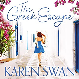 The Greek Escape                   By:                                                                                                                                 Karen Swan                               Narrated by:                                                                                                                                 Jo Woodcock                      Length: 13 hrs and 49 mins     99 ratings     Overall 4.4