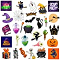 Halloween Stickers. Stickers of Pumpkins,Witch, Party Favors.Halloween Stickers Decals for Kids, Gift.Halloween Wall Stickers, Party Decor.