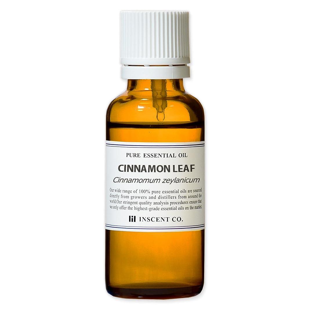 破裂権限味方シナモンリーフ 30ml インセント アロマオイル AEAJ 表示基準適合認定精油