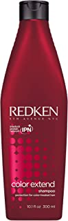 Redken Color Extend Shampoo | For Color-Treated Hair | Cleanses Hair Leaving It Manageable & Shiny | 10.1 Fl Oz