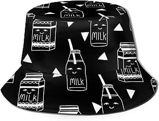 Milkバケットハット ハット 帽子 紫外線対策 サファリハット カジュアル スポーツ メンズ レディース プレゼント UVカット つば広 おしゃれ 可愛い 日よけ 夏季 小顔効果 新型