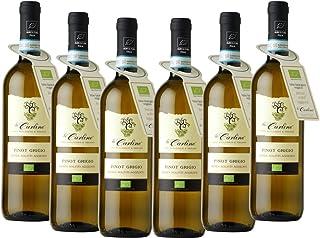Pinot Grigio DOC Le Carline sin sulfitos añadidos orgánico