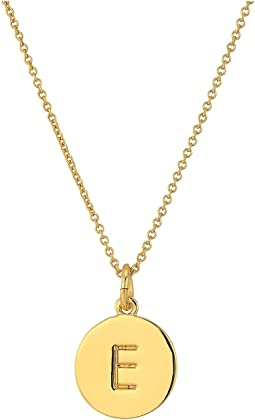 Kate Spade Pendants E Pendant Necklace