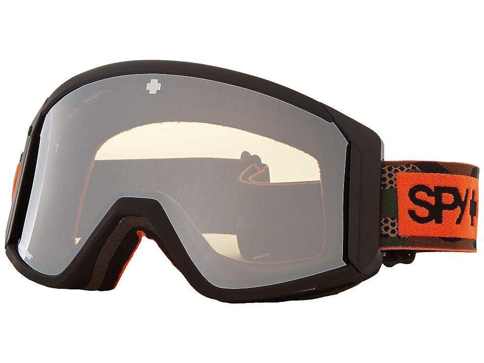 Spy Optic Raider (Camo Happy Bronze w/ Silver Spectra+Persimmon) Snow Goggles