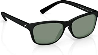 Fastrack UV protected Square Men's Sunglasses (P357BK1|41 millimeters|Smoke (Grey/Black) (P357BK1) (P357BK1)